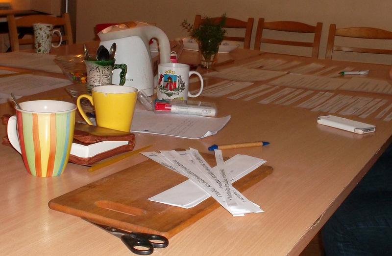 Tā izskatījās darba galds